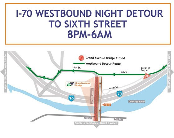 Westbound Night Detour