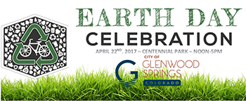 Earth Day banner website