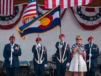Fourth of July Color Guard