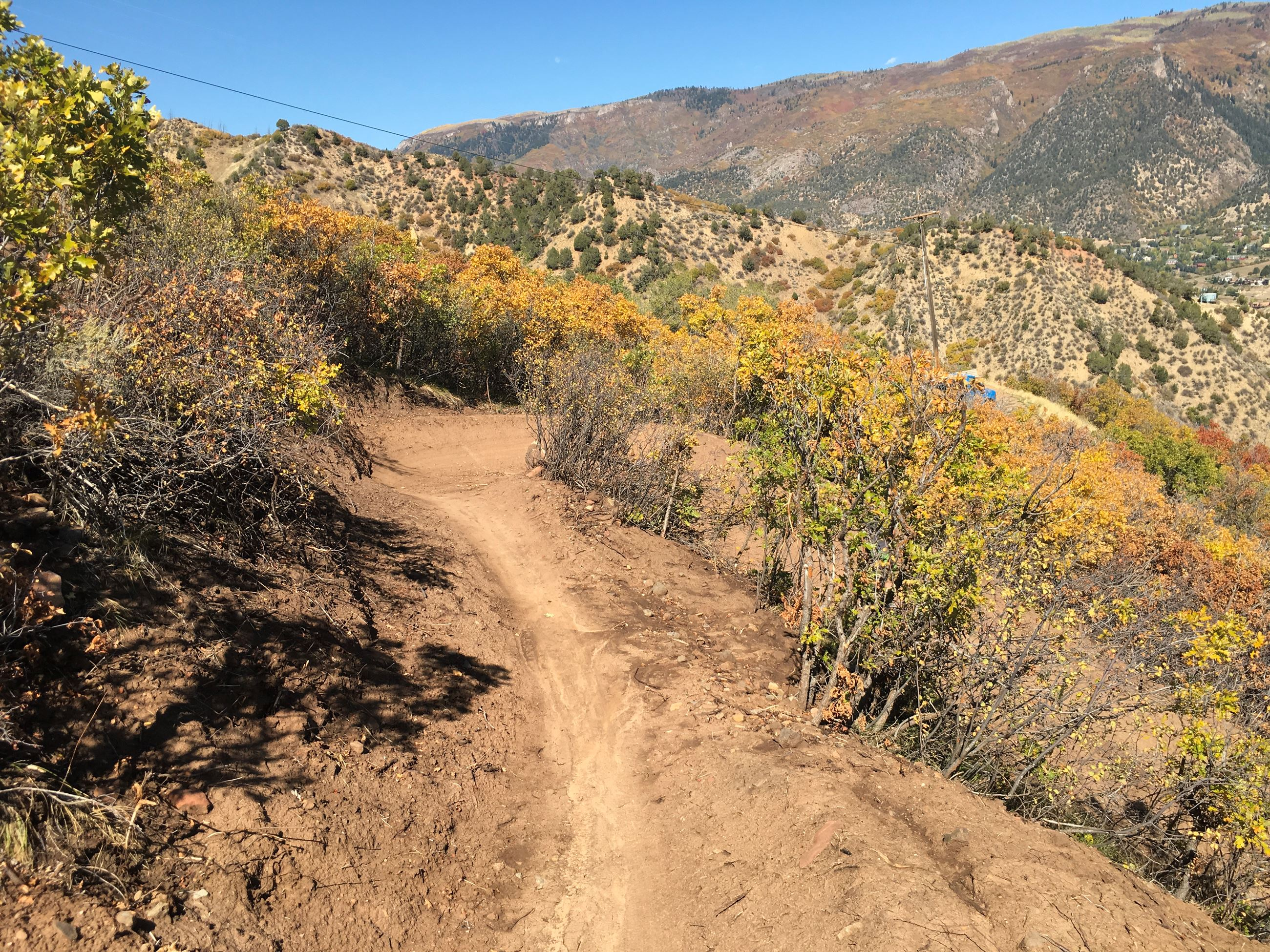 Grandstaff Mountain Bike Trail