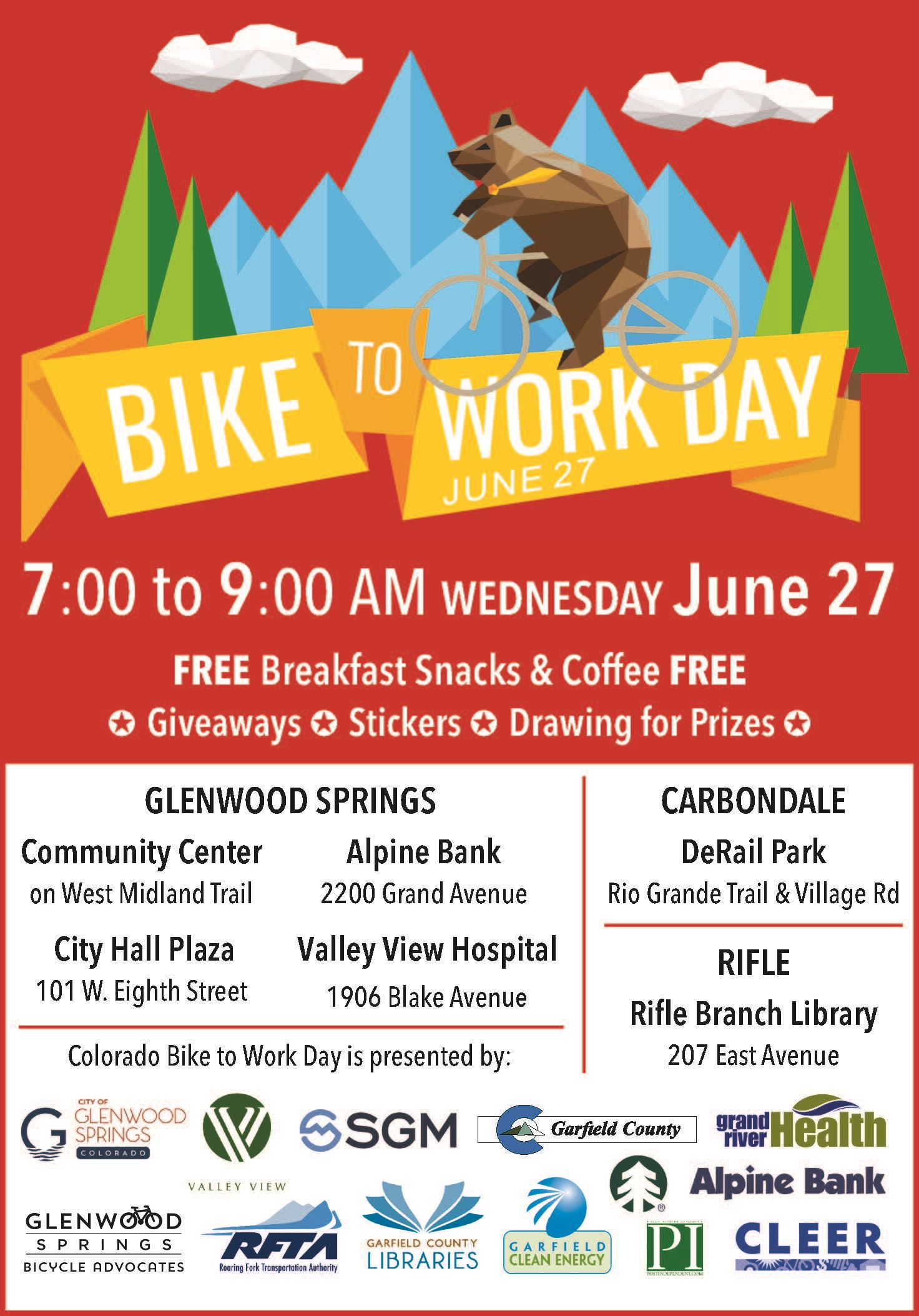 2018 Colo Bike to Work Day print ad