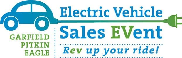 EV sales event graphic