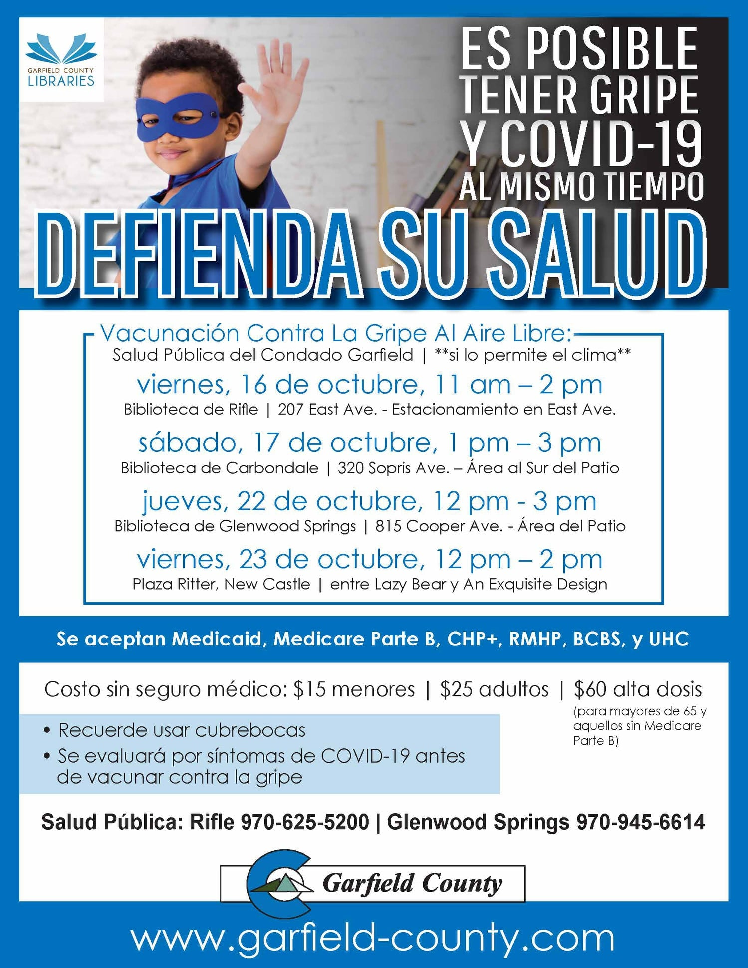 flu clinic spanish